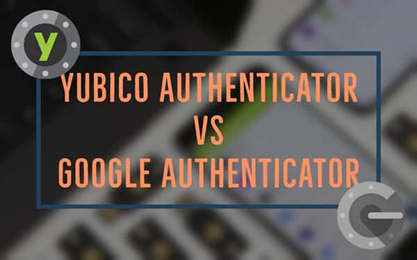 Yubico and Google Authenticator banner